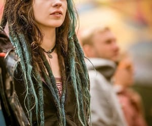 dreadlocks, dreads, and festival image