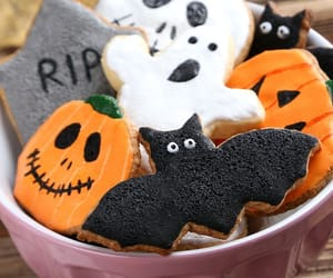 cookie, Halloween, and october image