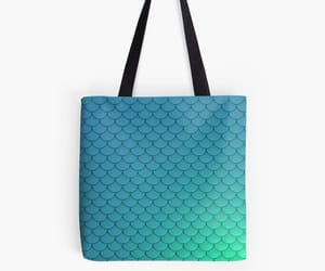 aqua, bag, and tote image