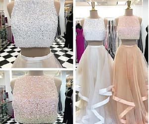 long evening dress and two pieces prom dress image