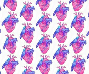 heart, patron, and pattern image