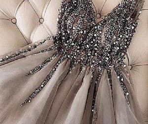 prom dress, homecoming dress, and grey prom dress image