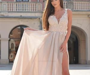 prom dress, prom dress for cheap, and appliques prom dress image