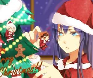 christmas, d.gray-man, and allen walker image