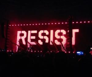 concert, resist, and roger waters image