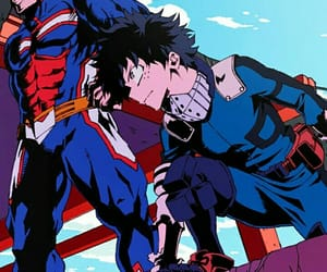one for all, all might, and boku no hero academia image