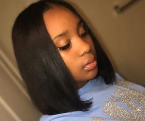 hair, pretty, and cute image