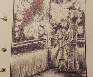 fireworks, ink, and people image