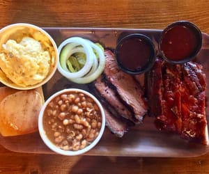 barbecue, bbq, and beans image
