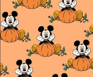 disney, Halloween, and micky mouse image