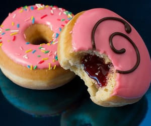 cakes, glazed donuts, and desserts image