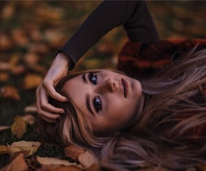 animals, autumn, and blonde image