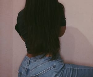 ass, hair, and teenagers image