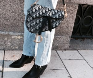 bag, booties, and chic image