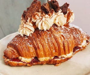croissant, food, and love image