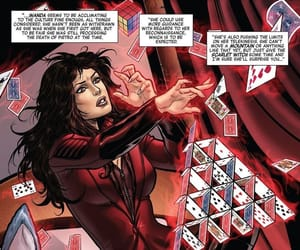 comic, scarlet witch, and Marvel image