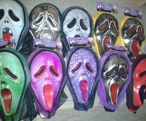 grunge, masks, and scream image