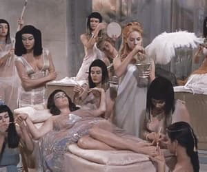 cleopatra, gifs, and girls image