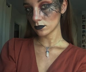 black, Halloween, and scary image