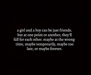 boy, forever, and girl image