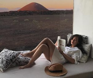 book, cozy, and girl image
