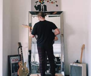 guitar, LUke, and 5 seconds of summer image