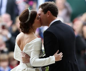 bride and groom, pure love, and royal wedding image