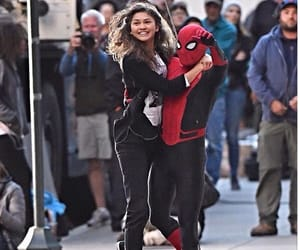 behind the scenes, spiderman, and peter parker image