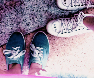 allstar, converse, and girls image