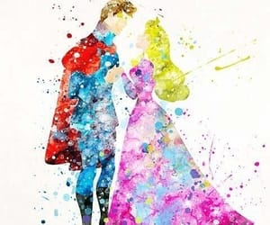 couple, dance, and draw image