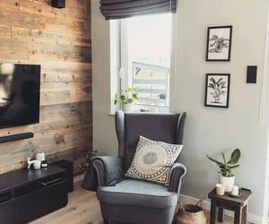 armchair, beautiful, and boho image
