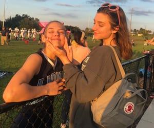 girl, cheer, and football image