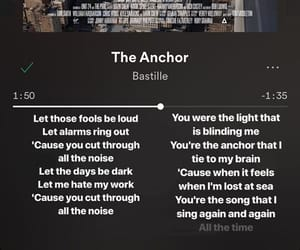 anchor, sing, and song image