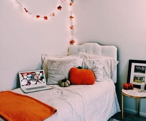 autumn, room, and bedroom image
