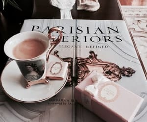 coffee, laduree, and paris image