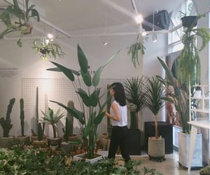 plants, girl, and ulzzang image