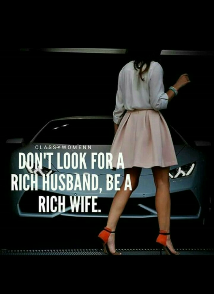Where can i find a rich wife