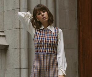 a little better fitted, but I like this 60's school girl type style