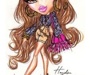 art, model, and Yasmin image