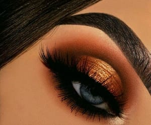 eyeshadow, fall, and girl image