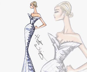 art, bridal couture, and collection image