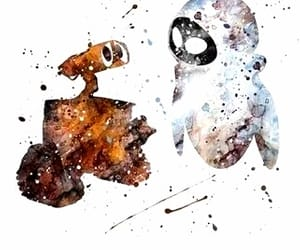 disney, wall-e, and art image