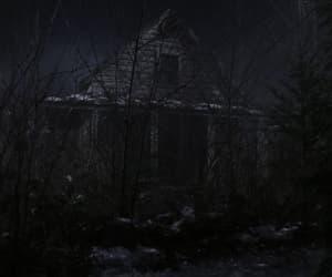 forest, shack, and supernatural image