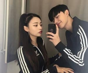 couple and korean image