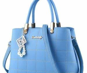 blue, chaveiro, and pérolas image