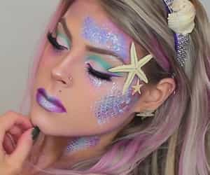 girls, makeup, and girly image