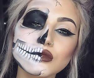 Halloween, makeup, and halloweenmakeup image
