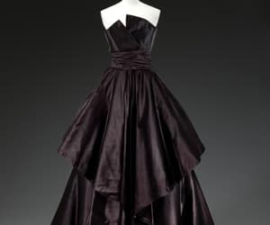 1950's, 50's, and evening dress image