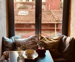 autumn, tea, and cozy home image