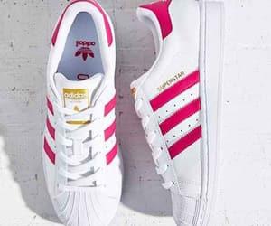 pink, adidas, and rosa image